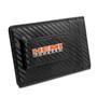 HEMI Powered Black Carbon Fiber RFID Card Holder Wallet