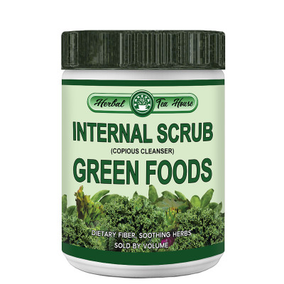 Internal Scrub Green Foods by Herbal Tea House