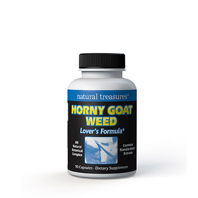 Natural Treasures Horny Goat Weed 90 Capsules
