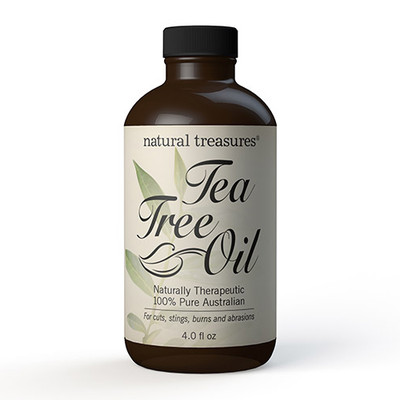 Natural Treasures Tea Tree Oil 4 fl oz