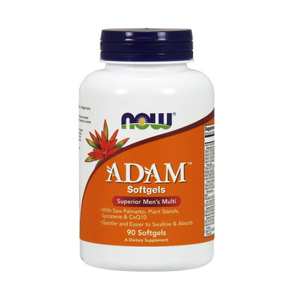 NOW Adam Superior Men's Multivitamins (90 Softgels)