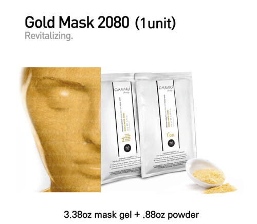 Casmara Gold  Mask 2080 (gold) 1unit
