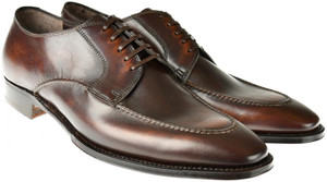 Brioni Dress Shoes Leather 7 US 40 EU Brown