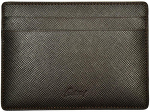 Brioni Wallet Multi Card Case Saffiano Leather Brown 03WA0143