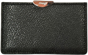 Brioni Wallet Card Case Pebble Grain Leather Black 03WA0141