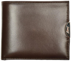 Brioni Wallet Bifold 3 Card Leather Brown 03WA0138