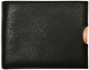 Brioni Wallet 8 Card Leather Black 03WA0145