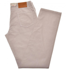 Brioni Jeans 'Etna' Cotton Stretch Twill Size 40 Purple