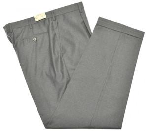 Brioni Pants 'Cortina' Light Fannel 150's Wool Size 46 Gray 03PT0149