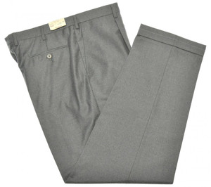 Brioni Pants 'Cortina' Light Fannel 150's Wool Size 39 Gray 03PT0146