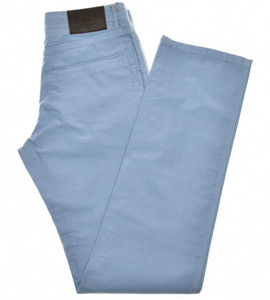 Brioni Jeans 'Sunset' 5 Pocket Cotton Size 30 Blue 03JN0386