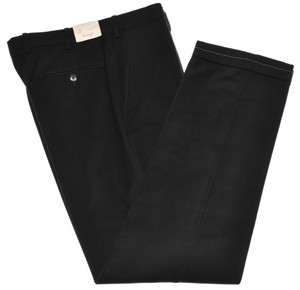 Brioni Pants 'Portorico' Soft Brushed Cotton Size 32 Navy Blue
