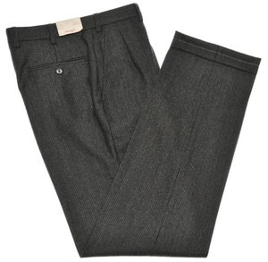 Brioni Pants 'Moena' Wool Size 30 Gray