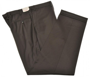 Brioni Pants 'Cortina' Super 150's Wool Size 42 Brown