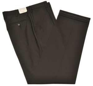 Brioni Pants 'Cortina' Super 140's Wool Size 32 Dark Brown