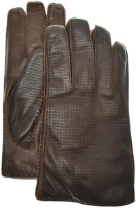 Brioni Gloves Handmade Leather Size 10 Brown