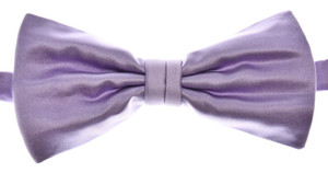 Brioni Bow Tie Silk Purple
