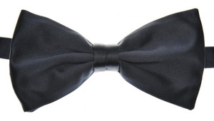 Brioni Bow Tie Silk Navy-Dark Blue