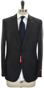 Isaia Suit 'Sanita' 2B Wool 170's Size 42 Gray Check