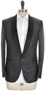 Isaia Tuxedo Formal Sport Coat Jacket 'Sanita' Size 42 Black