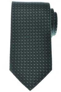 Gucci Tie Silk Woven 57 x 3 1/4 Green Geometric 19TI0145