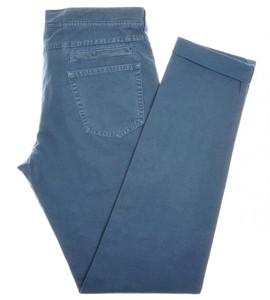 Brunello Cucinelli Jeans Pants Cotton Canvas 34 50 Blue 02PT0123