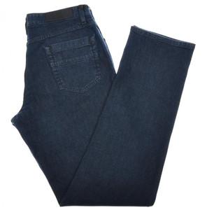 Ermenegildo Zegna Luxury Denim Jeans Cotton Stretch 36 52 Blue 10JN0118