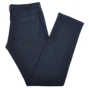 Ermenegildo Zegna Luxury Denim Jeans Cotton Stretch 32 48 Blue 10JN0135