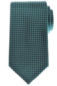 Gucci Tie Silk Woven 57 1/4 x 3 1/4 Green Gray Geometric 19TI0121