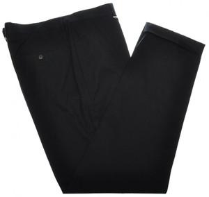 Brunello Cucinelli Pants Cotton Twill Zip-Fly 40 56 Navy Blue 02PT0196