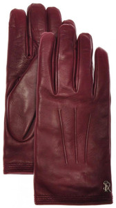 Stefano Ricci Gloves Handmade Leather Cashmere Lined Size 9 Red 13GL0107
