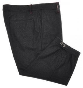 Kiton Napoli Luxury Golf Pants Knickers Wool Flannel 29 45 Gray 01PT0103