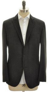 Boglioli 'Dover' Sport Coat Blazer Jacket 3B Wool 46 56 Gray 24SC0112