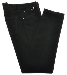 Kiton Luxury 5 Pocket Corduroy Jeans Cotton Stretch 35 51 Green 01JN0256