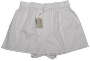 Brioni Luxury Boxer Shorts Underwear Cotton Large White Purple 03UN0105