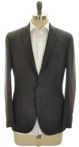 Boglioli 'Dover' Sport Coat Jacket 3B Wool Blend 44 54 Gray 24SC0125