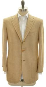 Kiton Sport Coat Jacket 3B Cashmere Blend 38 48 Brown 01SC0103