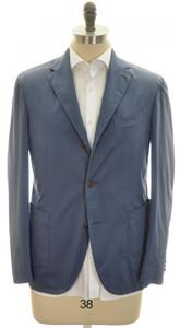 Boglioli 'Coat' Sport Coat Jacket 3B Cotton Stretch 40 50 Blue 24SC0185