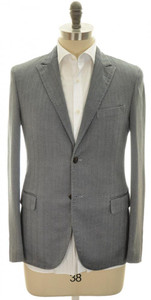 Boglioli 'Casati' Sport Coat Jacket 2B Cotton Stretch 38 48 Blue 24SC0199
