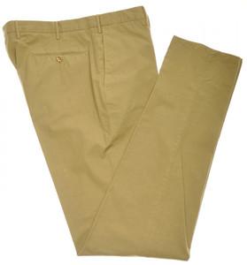 Incotex Casual Dress Pants Cotton Poplin 40 56 Brown 08PT0161