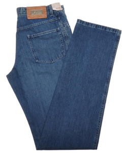 Brioni Limited Edition Denim Jeans 'LAAX' Cotton 34 50 Blue 03JN0347