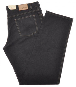 Brioni Denim Jeans 'Pordoi' Cotton 42 58 Gray 03JN0367