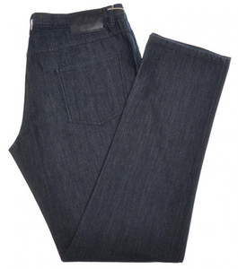 Brioni Denim Jeans 'Stelvio' Cotton Silk Cashmere 40 56 Blue 03JN0376