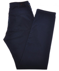 Kiton Luxury Jeans Cotton Stretch Twill 33 49 Dark Blue 01JN0381