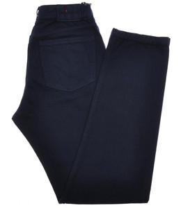 Kiton Luxury Jeans Selvedge Denim Cotton 32 48 Blue Solid
