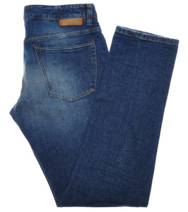 Incotex Jeans Pants Denim Cotton Stretch 34 50 Washed Blue 28JN0116