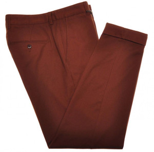 Boglioli Pants Cotton Stretch Textured Twill 32 48 Brown 24PT0121