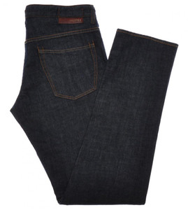 Incotex Jeans Pants Denim Cotton Stretch 33 49 Dark Blue 28JN0119