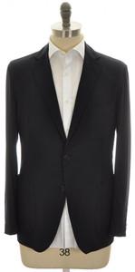 Belvest Sport Coat Jacket 2B 100% Cashmere 40 50 Navy Blue 50SC0146
