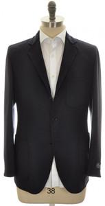 Belvest Sport Coat Jacket 3B Wool Cashmere 40 50 Blue Solid 50SC0153
